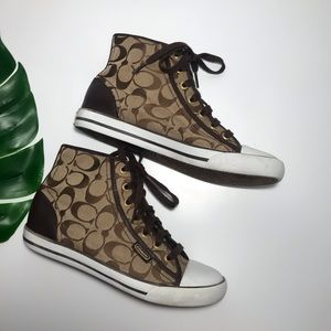 Coach 'Marina' High Top Sneakers
